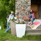 Напольное кашпо для цветов в Красноярске
