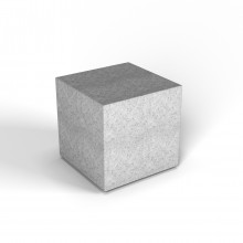 """Декоративная фигура """"Flox"""" Куб белый гранит"""